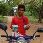 Guyan the monkey man...