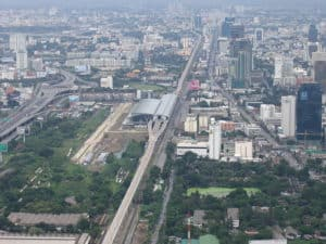 Airport Link new terminal in downtown Bangkok
