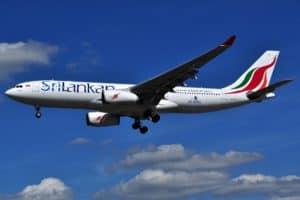 Sri Lankan airlines plane