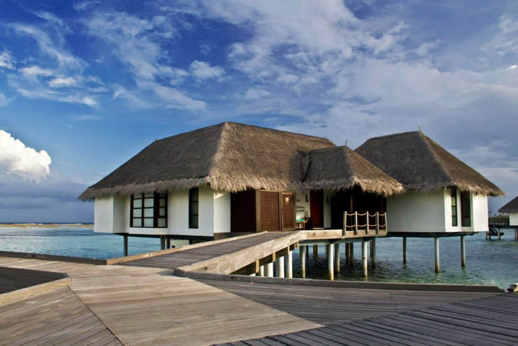 A Water Villa at Four Seasons Landaa Giravaaru in the Maldives