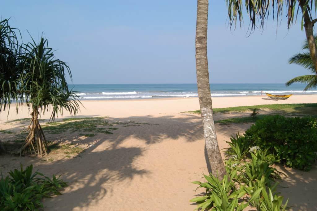 Beach in Bentota