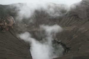 Bromo's crater