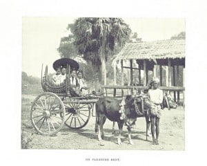 Alice Hart published the book 'Picturesque Burma' also in 1897. This is one of the photos from this collection.