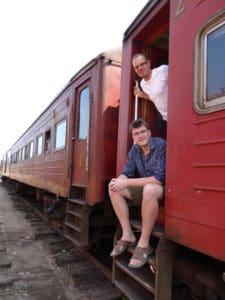 Tom and Sam in Sri Lanka 2013