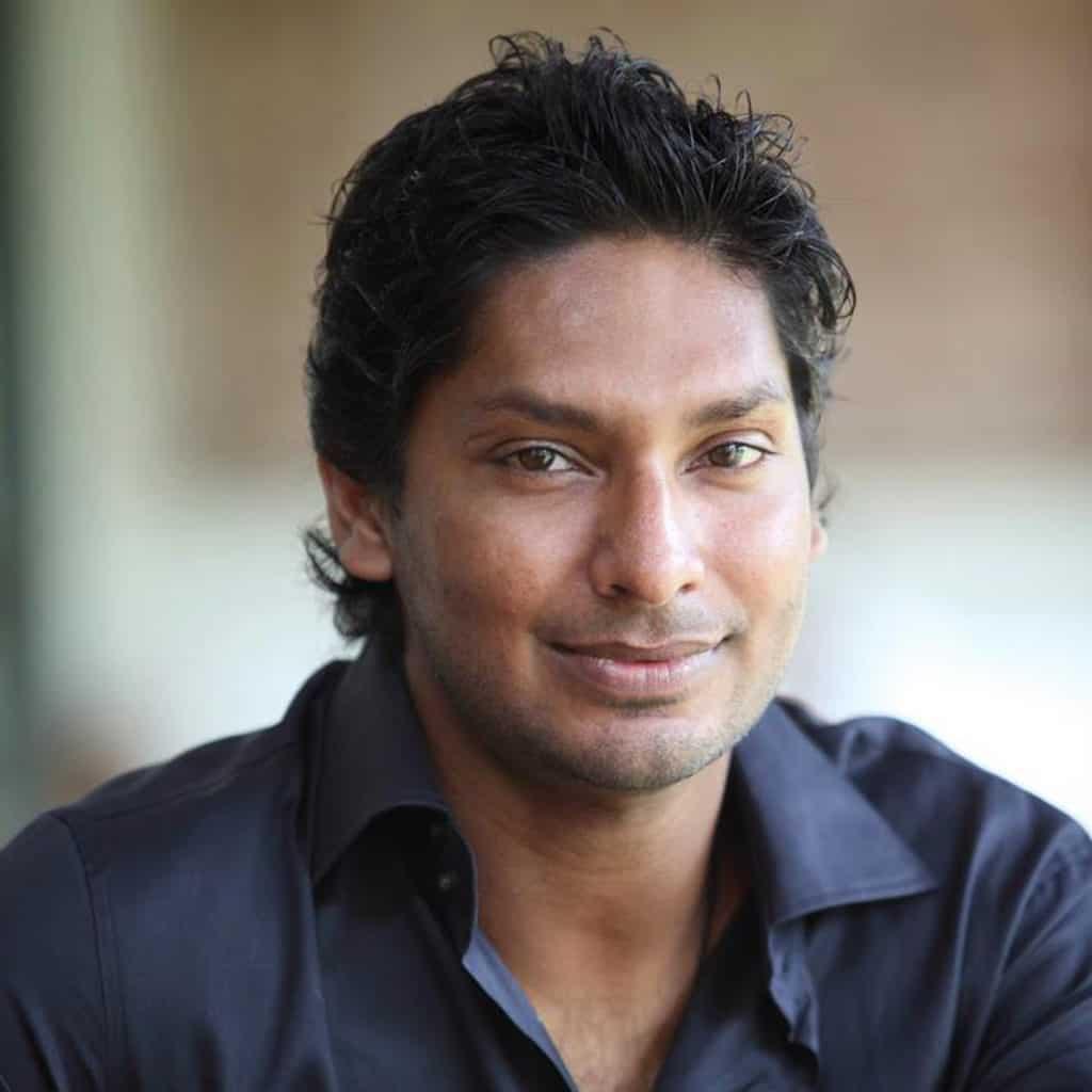 Kumar Sangakarra, former Sri Lankan cricket captain.
