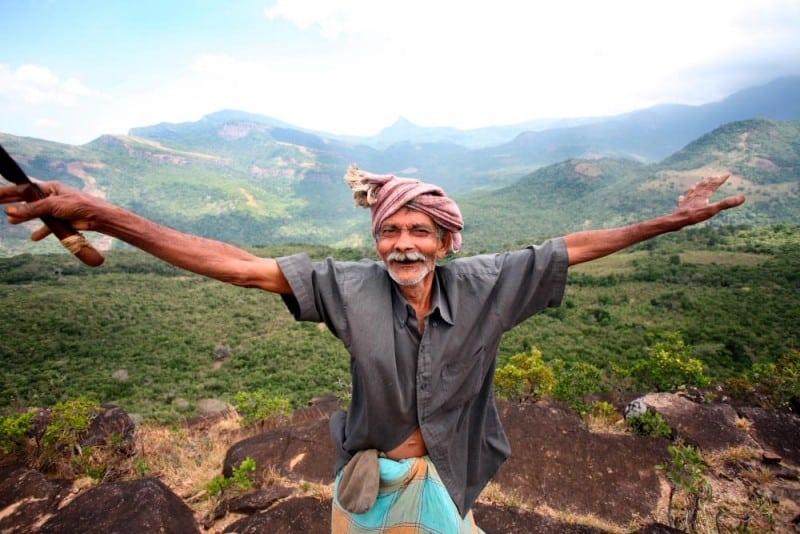 'Grandfather' celebrates his valley!