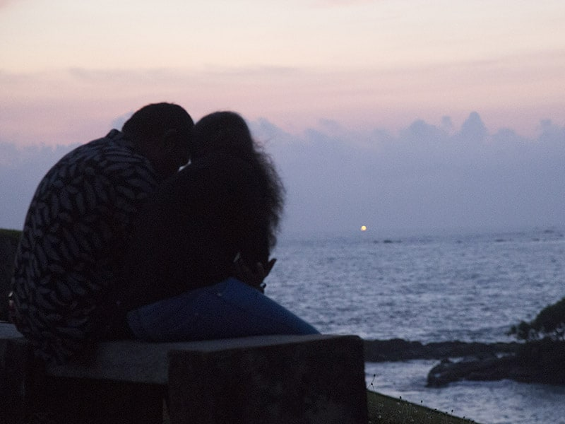 Watching The Sunset at Galle Fort, Sri Lanka
