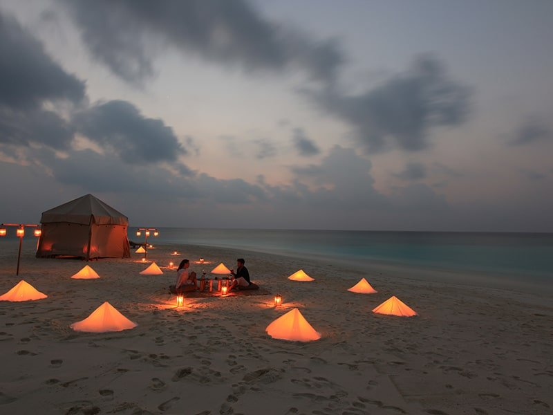 Private Dinner Picnic, The Maldives