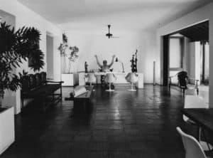 Bawa in his Studio, 1985