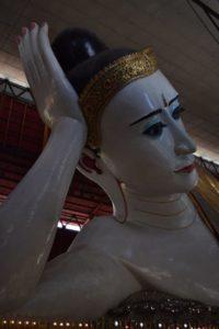 Reclining Buddha, Chaukhtatgyi Temple, Yangon