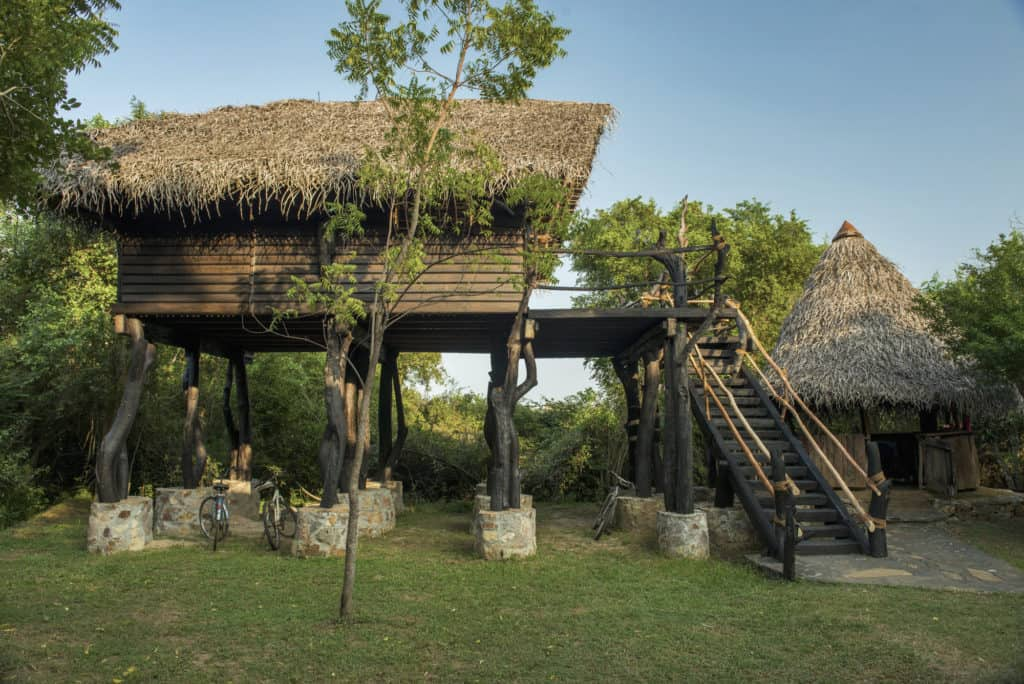 The Nest in the environmentally friendly Mudhouse property in Sri Lanka
