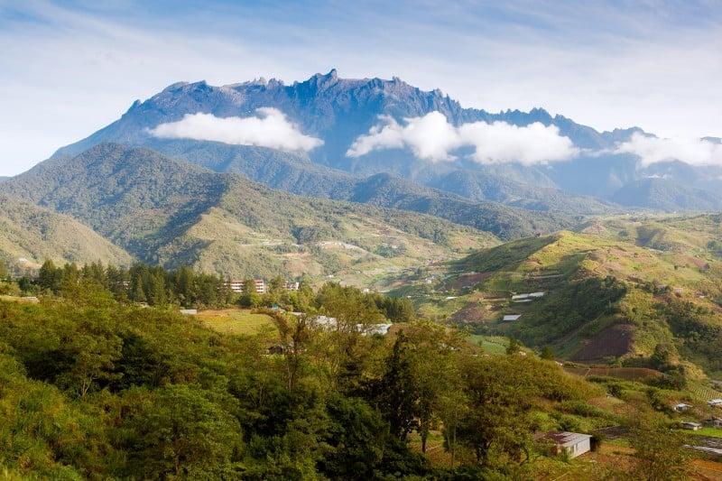 Mountain kinabalu, Sabah, Borneo, Malaysia