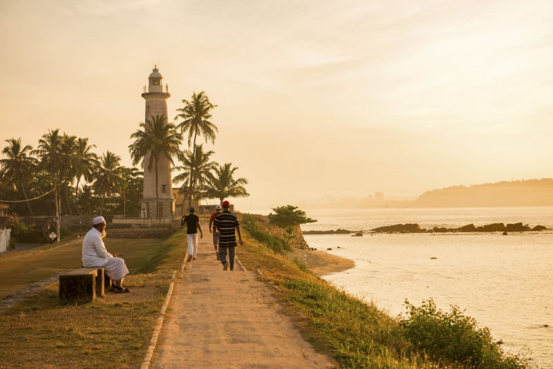Sunrise at UNESCO Galle Fort