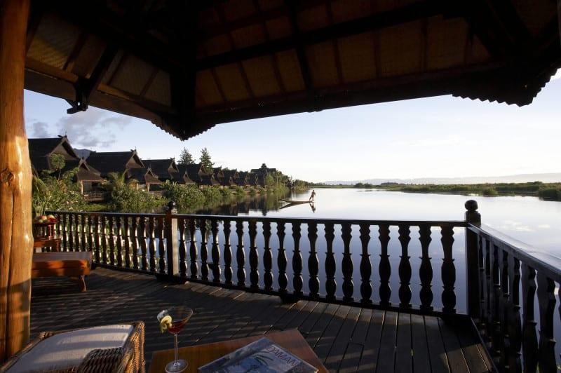 View from Balcony 207 by Zaw Min Yu
