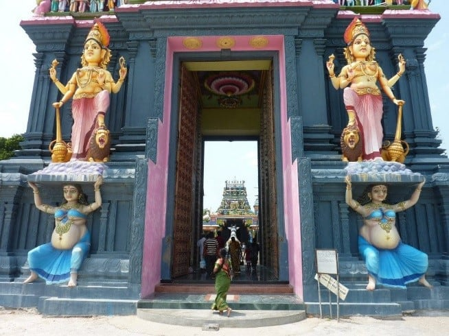 exterior temple