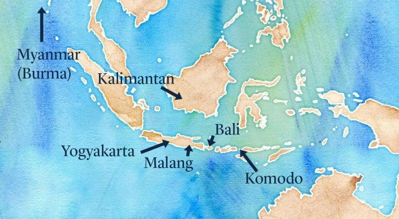 Sarah Map