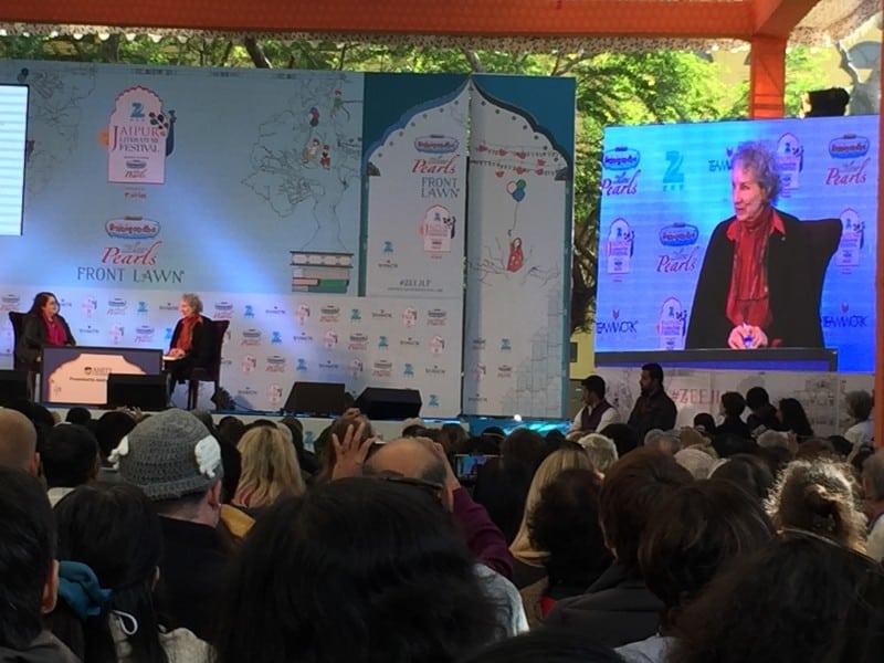 Margaret Atwood Jaipur Literature Festival