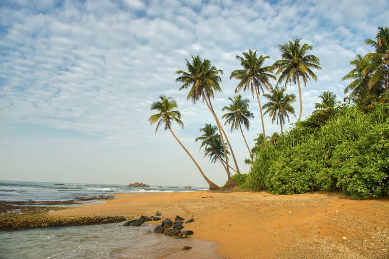 Some of the best beaches Sri Lanka are in Galle
