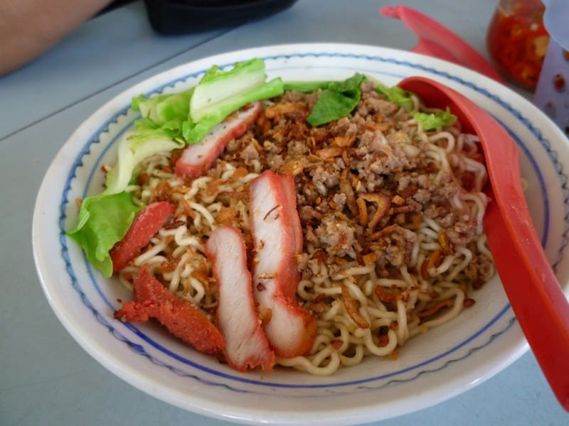 Kolo Mee is a type of Sarawakian noodle dish
