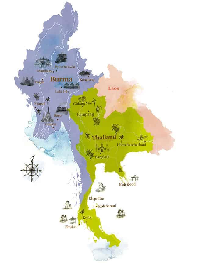 burma and thailand