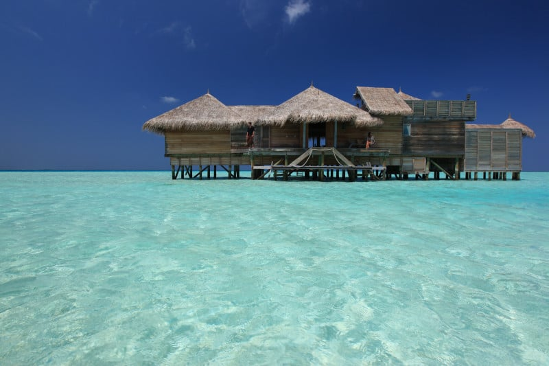 Crusoe Residence in the Maldives