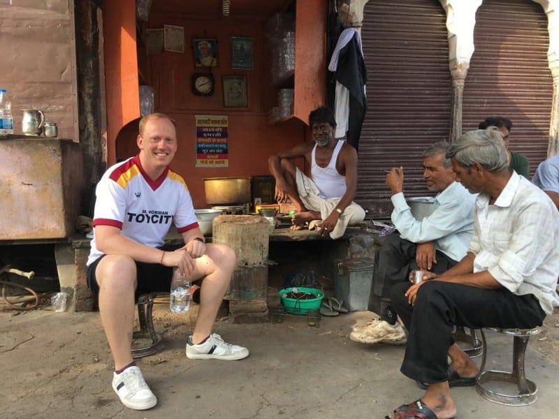 Waiting for Chai - cycle tour, Jaipur
