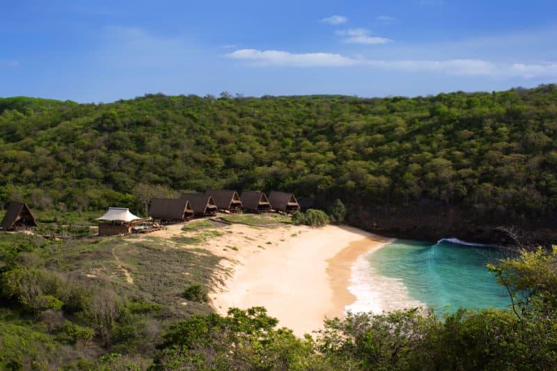 Jeeva Beloam eco resort located in an idyllic spot with pristine beach views