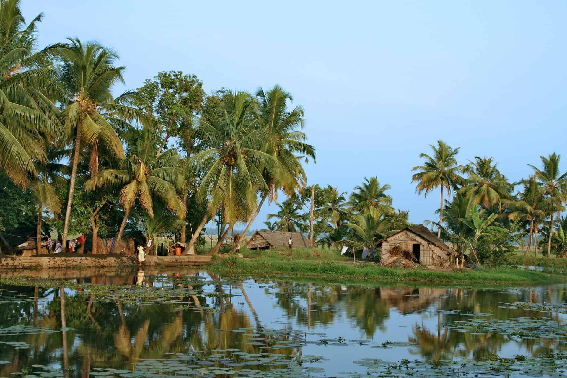 Keralan Backwaters in India