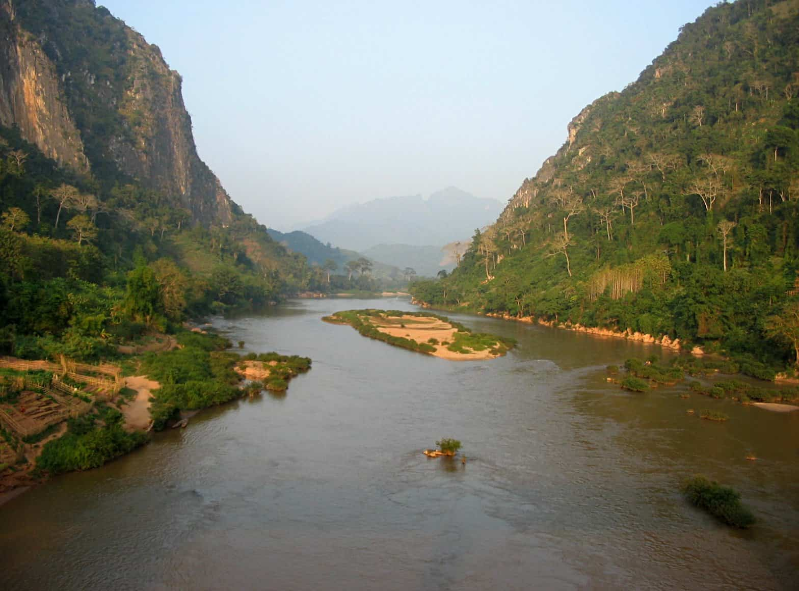 Nam Ou River in Laos
