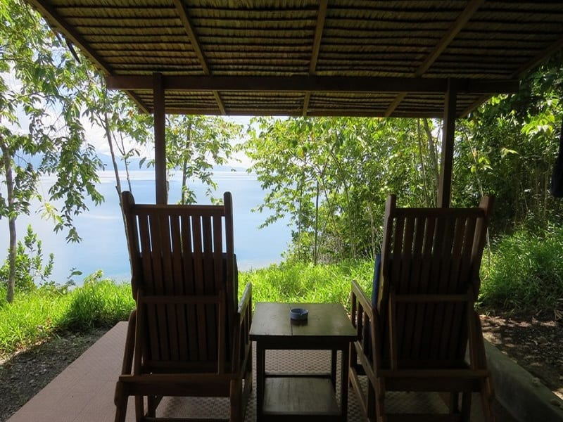 Weda Dive Resort in Halmahera