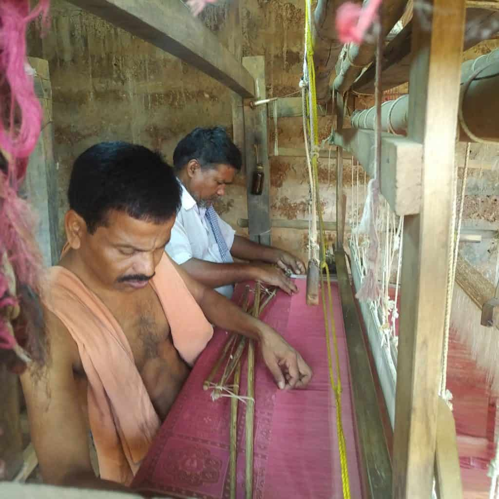 ancient handloom weaving techniques India