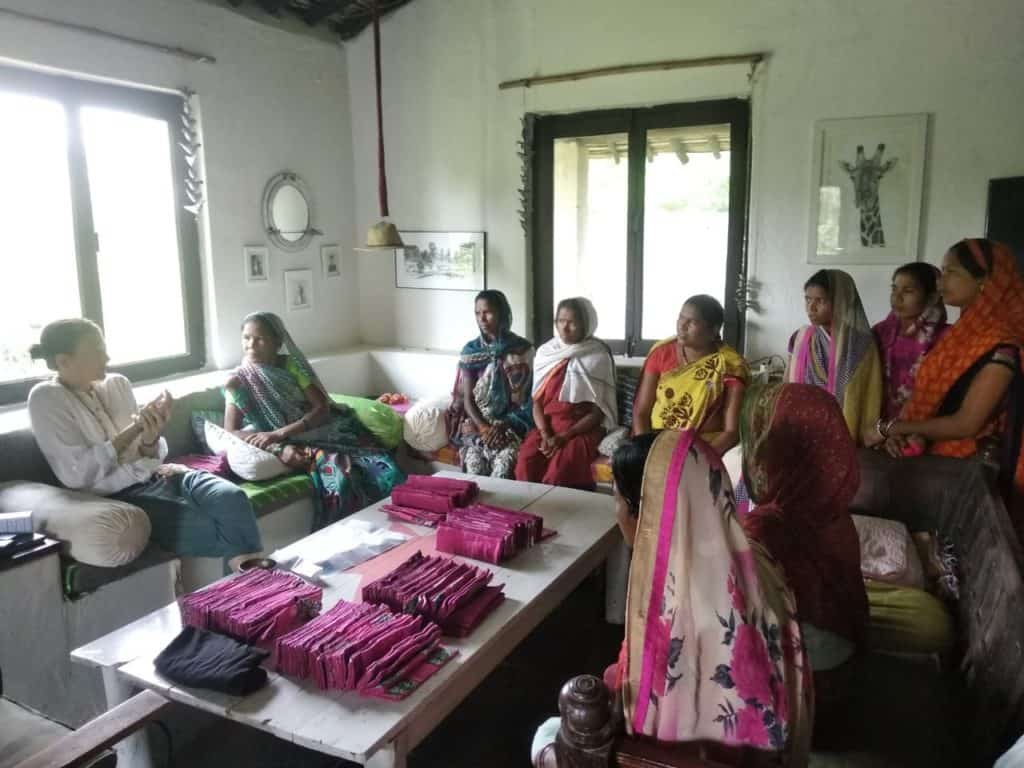 Women Tackling Period Poverty in Madhya Pradesh