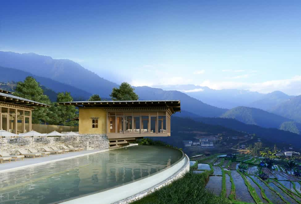 Bhutan Six Senses Luxury Hotel