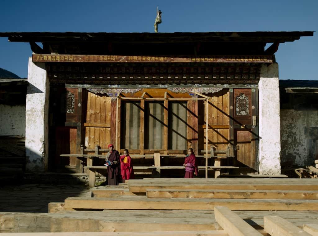 Gangtey Architecture Bhutan