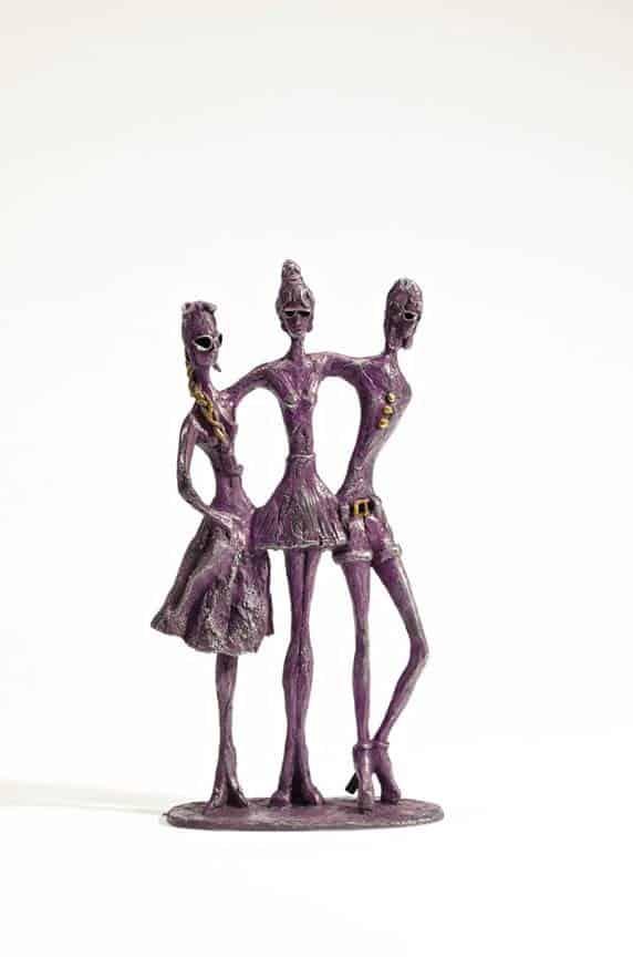 A scultpure called Bellini by Sara Ingleby-Mackenzie