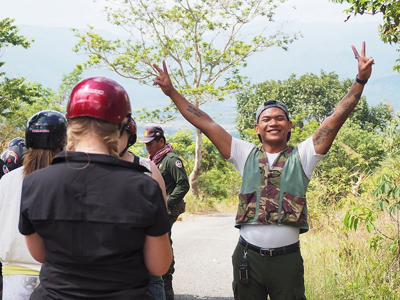 A happy guide from Shinta Mani Wild in Cambodia