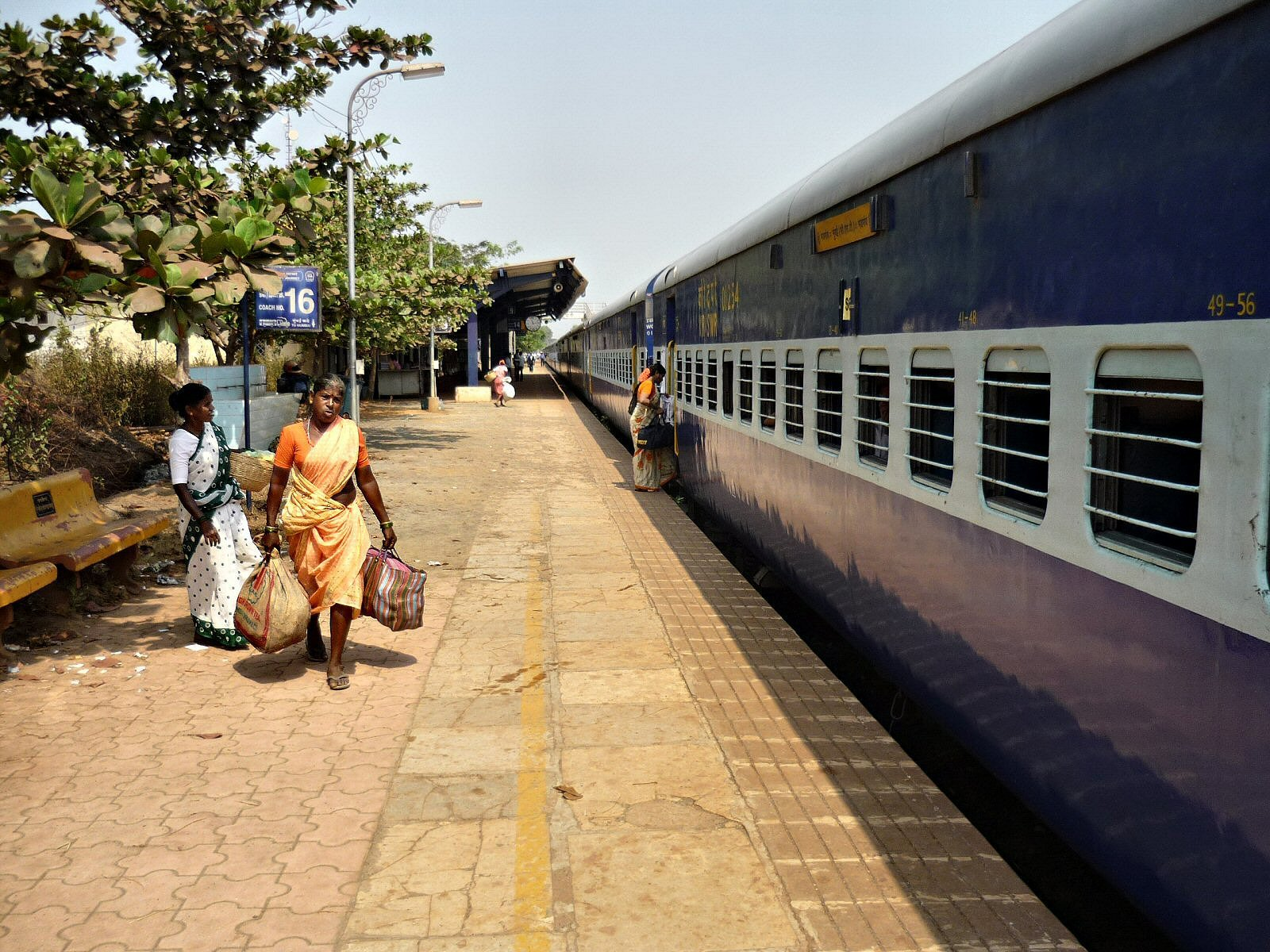 Madovi Express train in India
