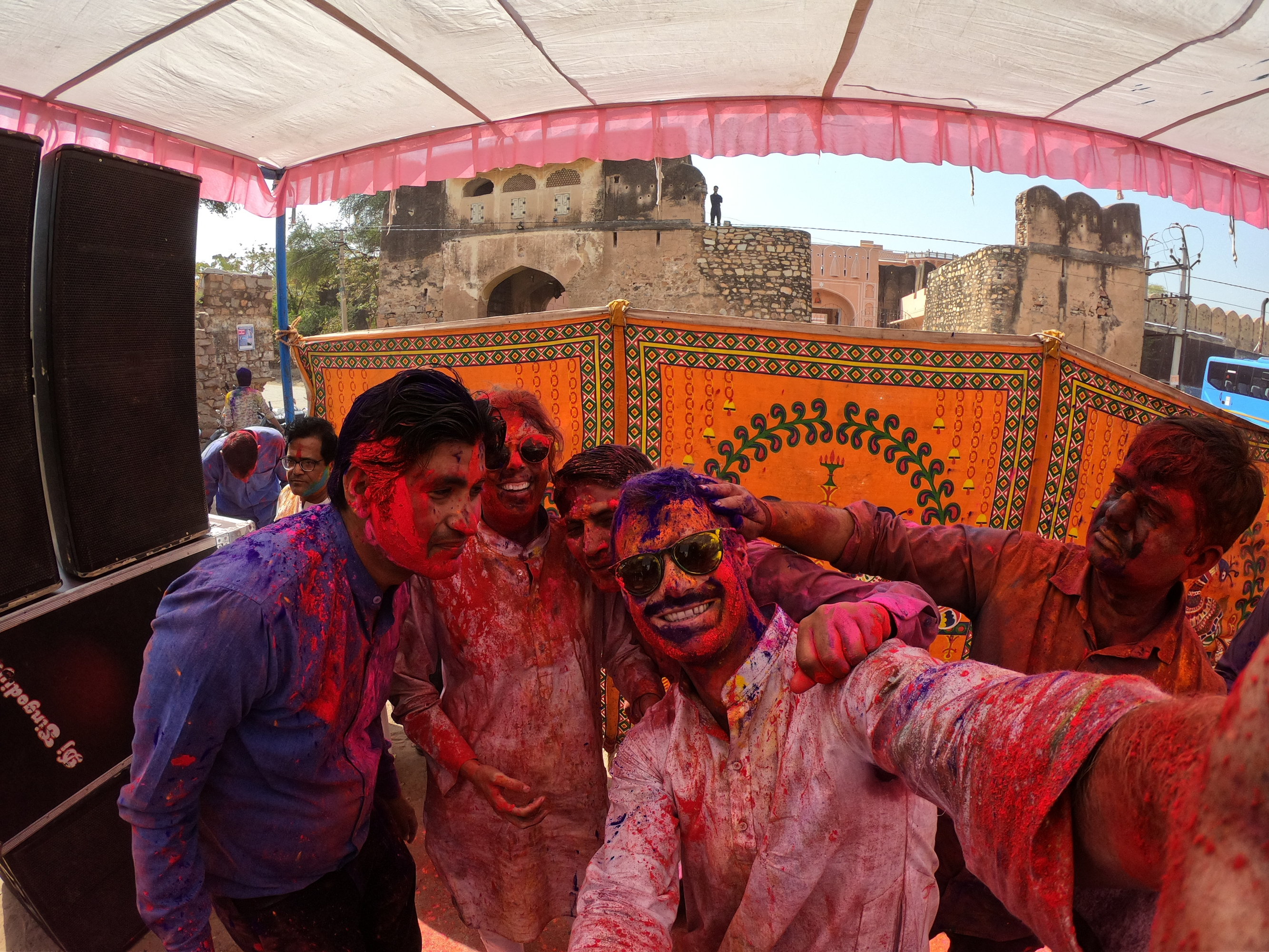 What is it like to celebrate Holi Festival as tourist