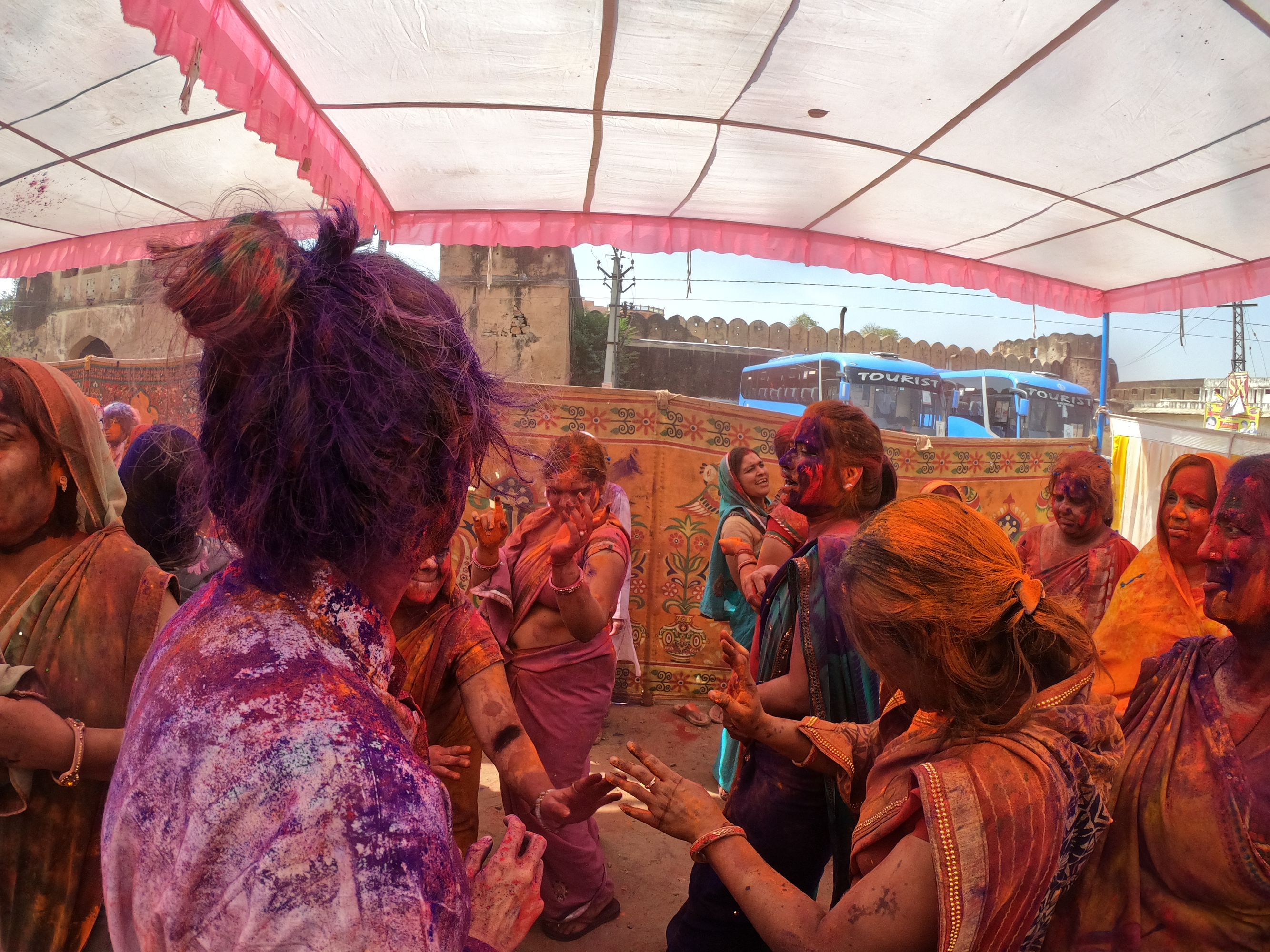 Celebrating the Holi Festival in India