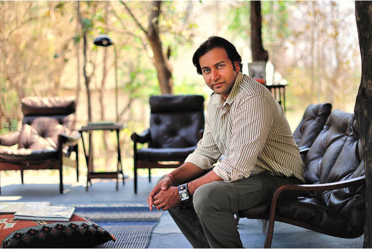 Amit Sankhala is passionate about tiger conservation