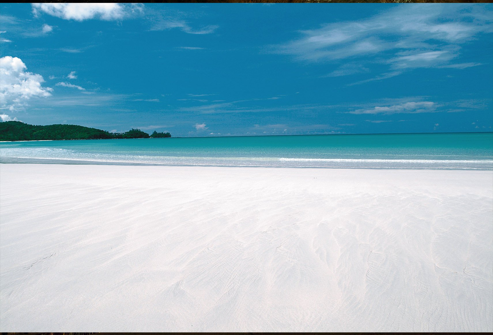 One of the most beautiful beaches in Borneo