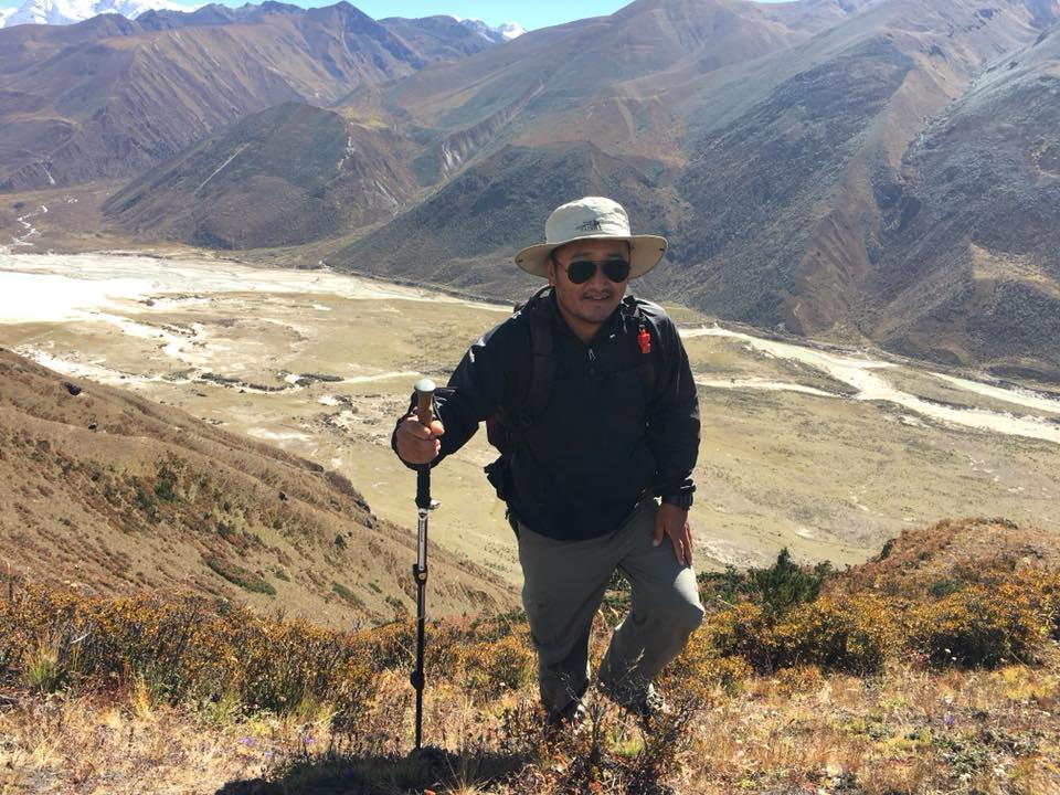Trekking guide in Bhutan