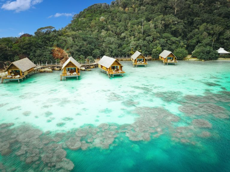 Bawah reserve bet floating resorts Malaysia