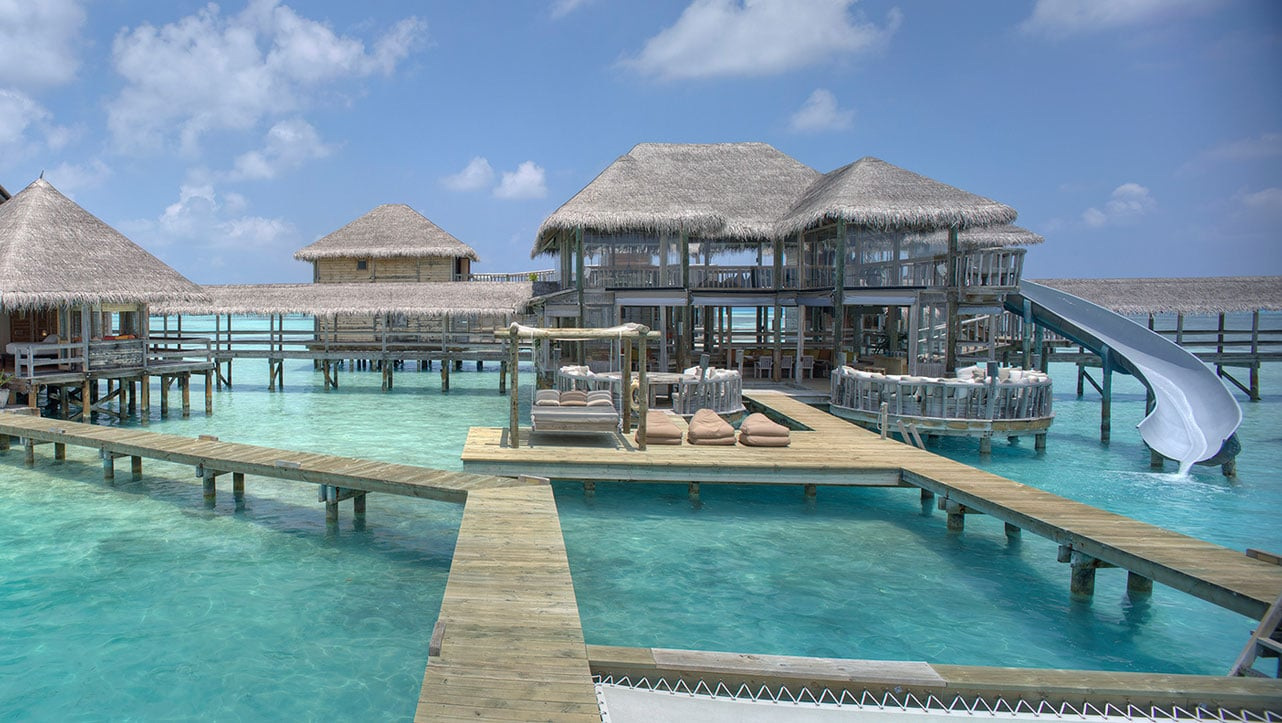 Gili Lankanfushi overwater villa resort in The Maldives
