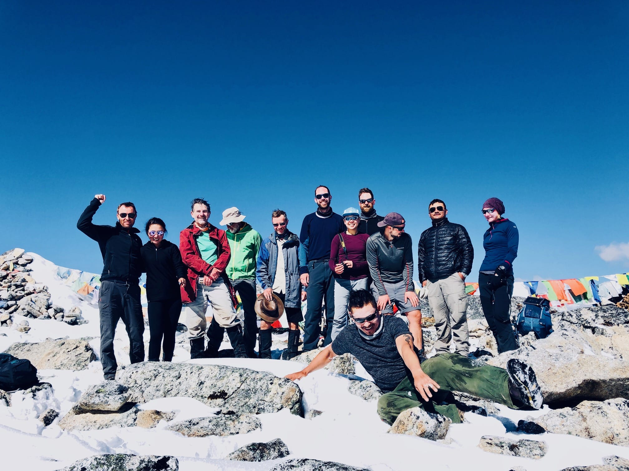 Group trip to Bhutan