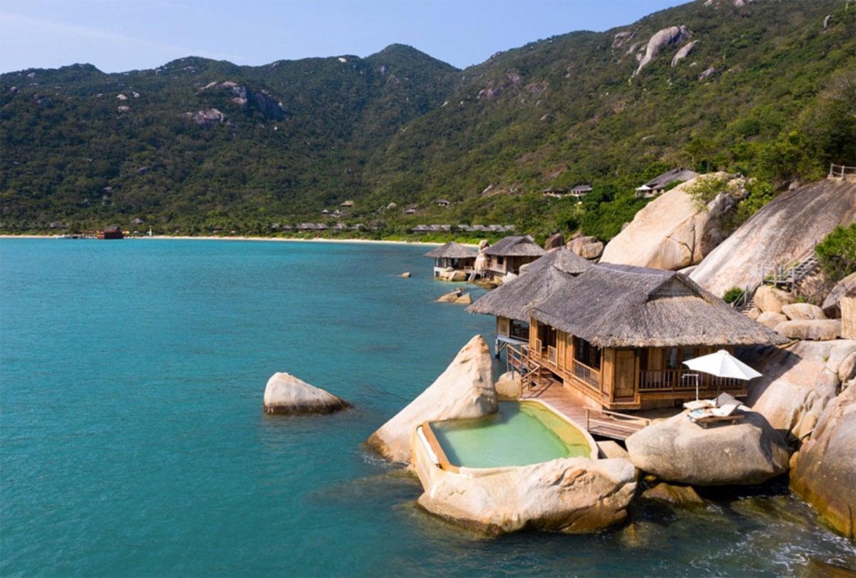 Six Senses overwater villa