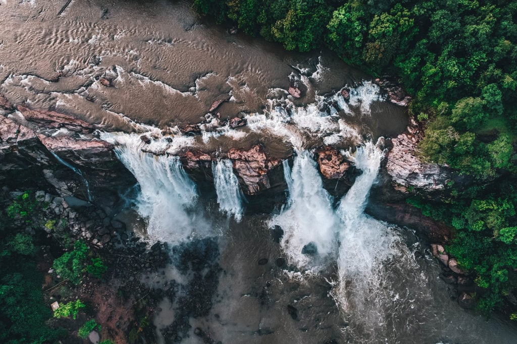 Athirappilly Falls is one of the best waterfall in Asia