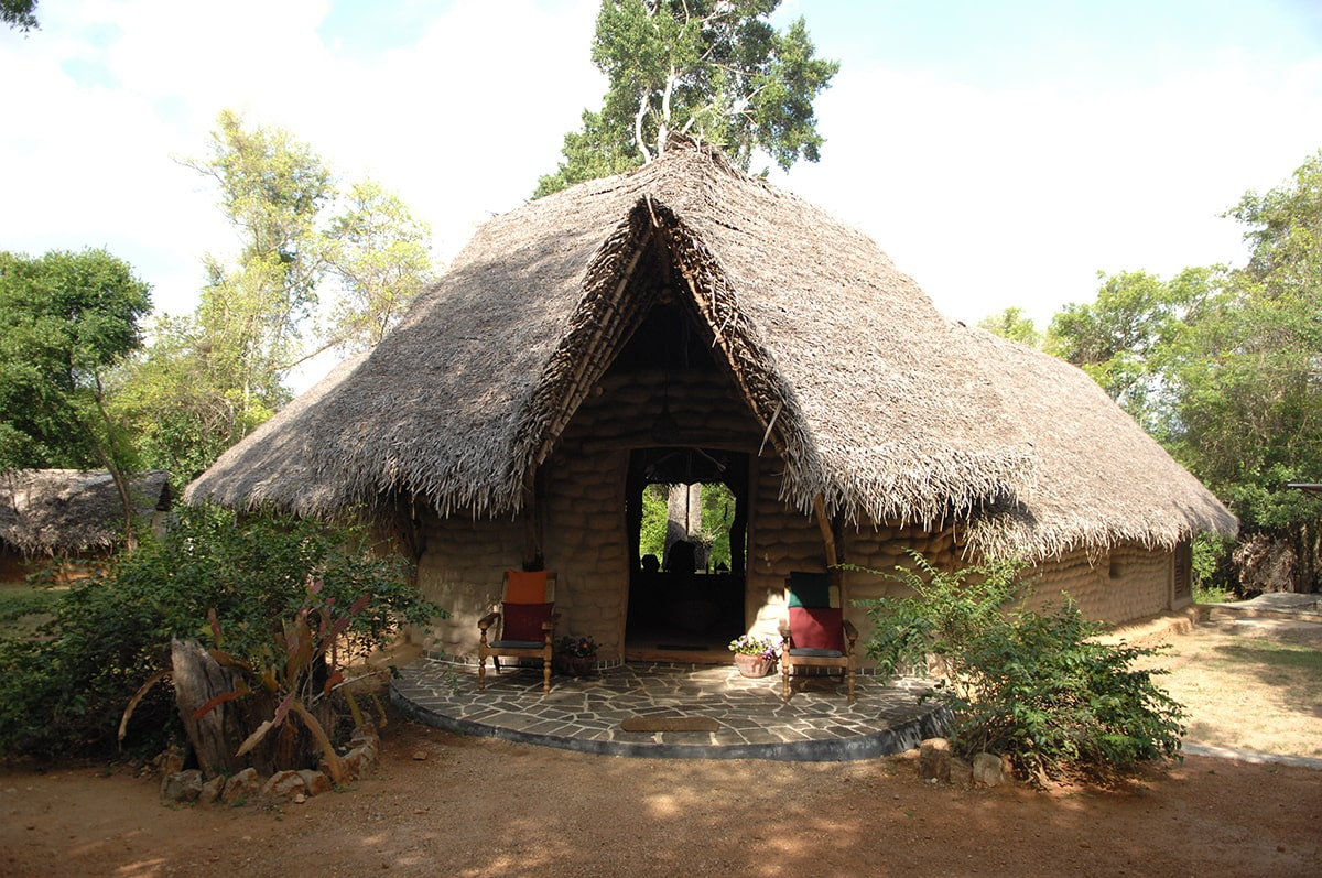 Traditional Mudhouse in Sri Lanka