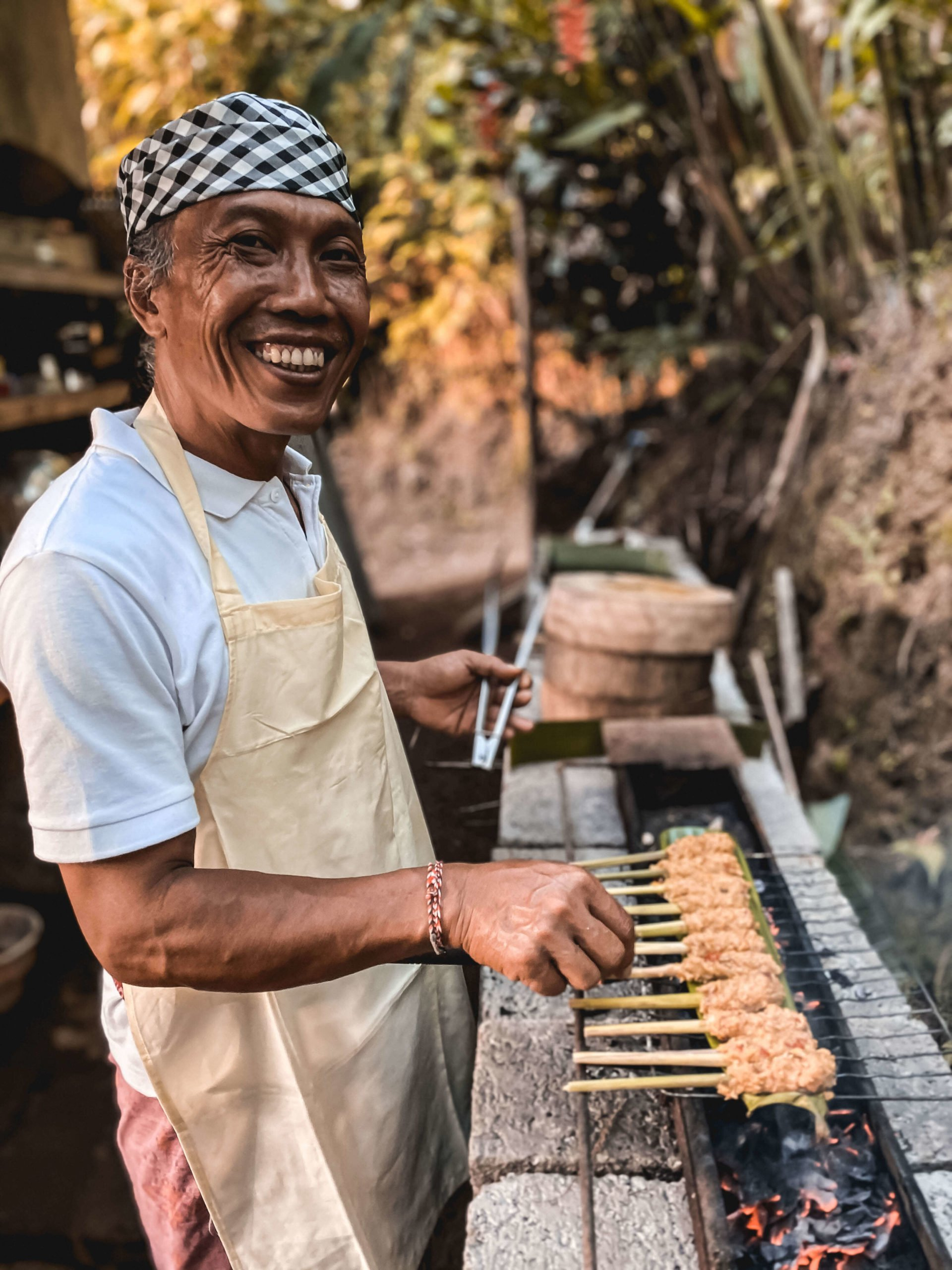 Chef cooking best food in Bali