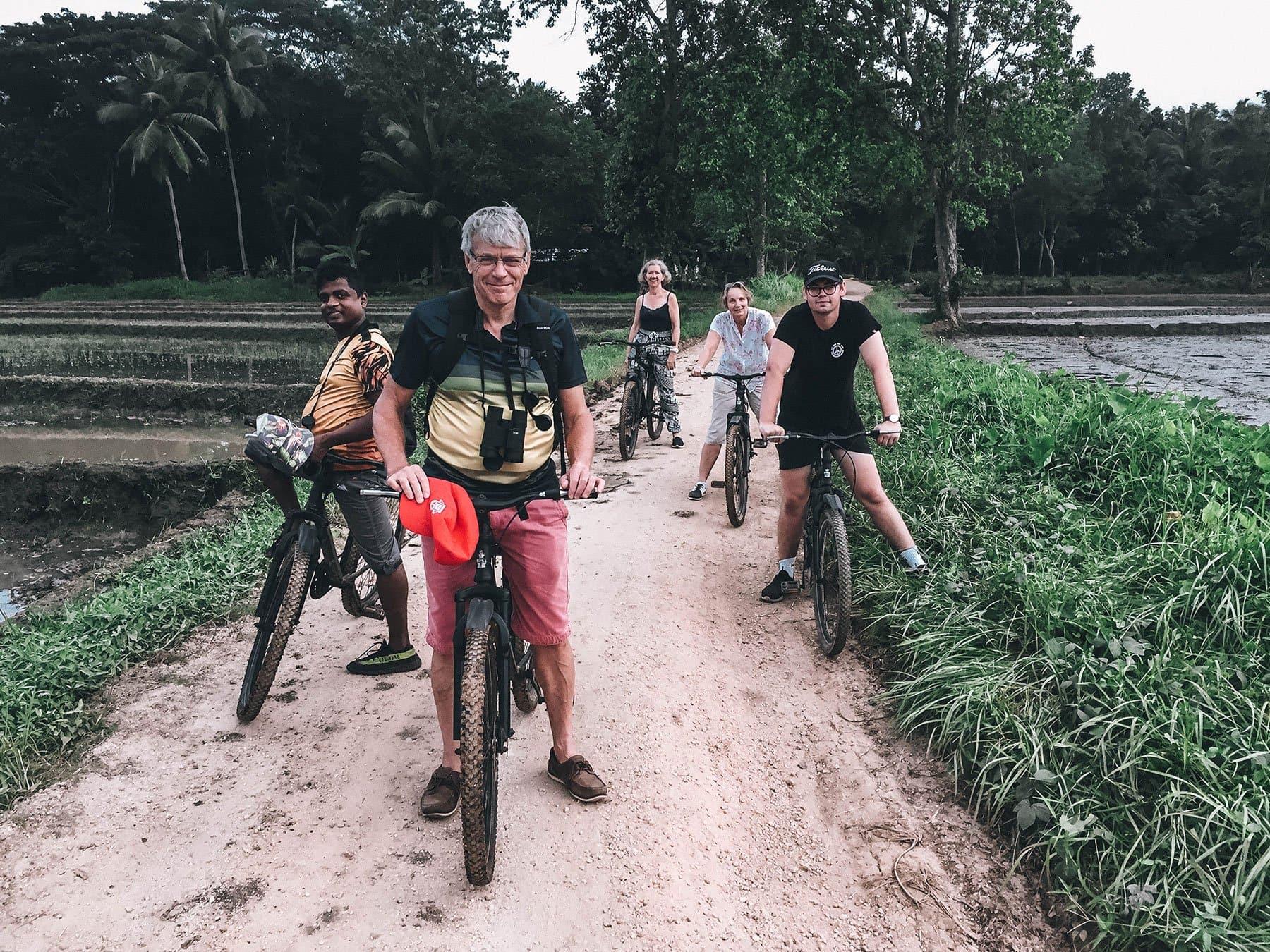 Cycling tour in Sri Lanka
